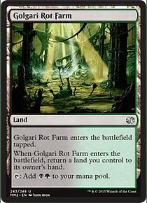Golgari Rot Farm - MM15
