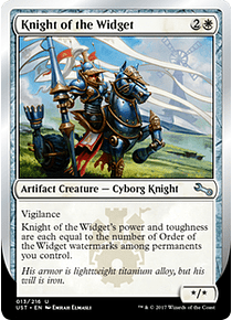 Knight of the Widget - UST