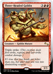Three-Headed Goblin - UST