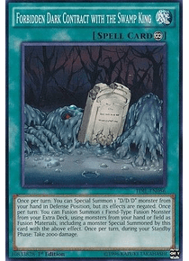 Forbidden Dark Contract with the Swamp King - TDIL-EN056 - Common