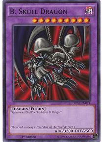 B. Skull Dragon - MIL1-EN011 - Common