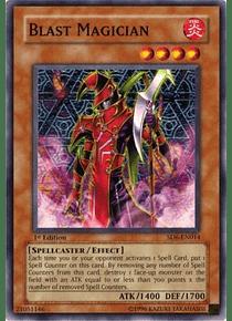 Blast Magician - SD6-EN014 - Common
