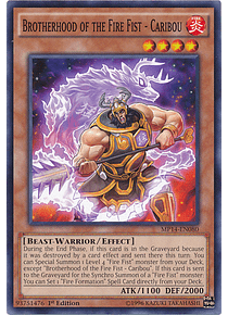 Brotherhood of the Fire Fist - Caribou - JOTL-EN027 - Common
