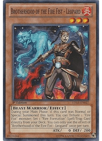 Brotherhood of the Fire Fist - Leopard - LTGY-EN027 - Common
