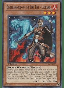 Brotherhood of the Fire Fist - Leopard - LTGY-EN027 - Common
