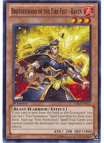 Brotherhood of the Fire Fist - Raven - CBLZ-EN022 - Common