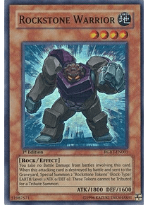 Rockstone Warrior - RGBT-EN001 - Super Rare