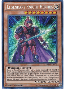 Legendary Knight Hermos - DRL2-EN008 - Secret Rare