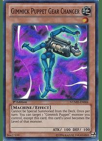 Gimmick Puppet Gear Changer - NUMH-EN006 - Super Rare