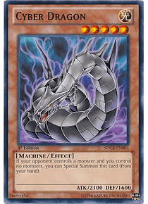 Cyber Dragon (Black) - SDCR-EN003 - Common