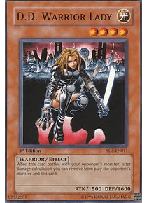D.D. Warrior Lady - SD5-EN011 - Common