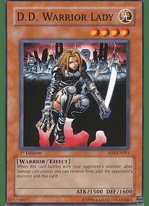 D.D. Warrior Lady - SD5-EN011 - Common