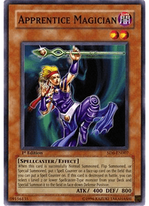 Apprentice Magician - SD6-EN007 - Common