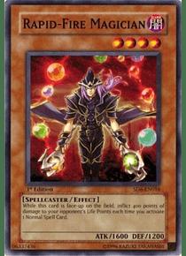 Rapid-Fire Magician - SD6-EN016 - Common