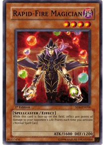 Rapid-Fire Magician - SD6-EN016 - Common