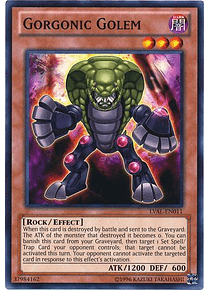 Gorgonic Golem - LVAL-EN011 - Common