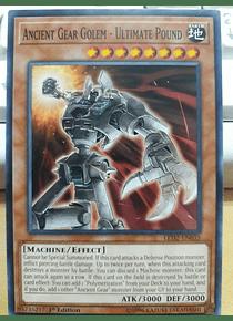 Ancient Gear Golem - Ultimate Pound - LED2-EN035 - Common