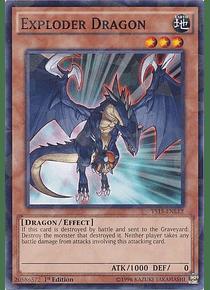 Exploder Dragon - YS15-ENL12 - Shatterfoil Rare