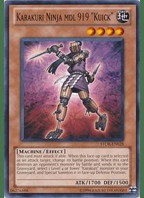 "Karakuri Ninja mdl 919 ""Kuick"" - STOR-EN028 - Common"
