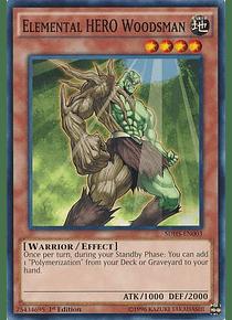 Elemental Hero Woodsman - SDHS-EN003 - Common