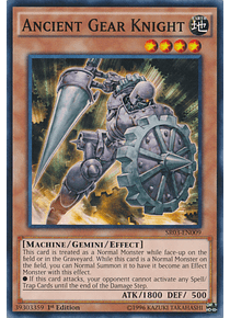 Ancient Gear Knight - BP01-EN146 - Common