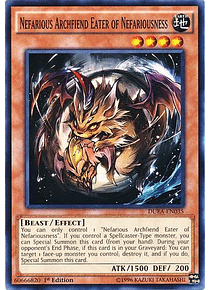 Nefarious Archfiend Eater of Nefariousness - DUEA-EN035 - Common