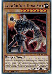Ancient Gear Golem - Ultimate Pound - COTD-EN099 - Common