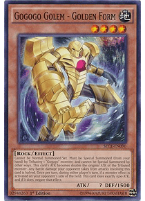 Gogogo Golem - Golden Form - SECE-EN090 - Common