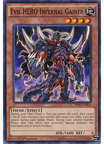 Evil Hero Infernal Gainer - BP03-EN032 - Common
