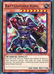 Battleguard King - DUEA-EN017 - Common