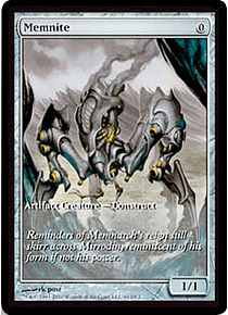 Memnite (Scars of Mirrodin Game Day) (Full-Art)