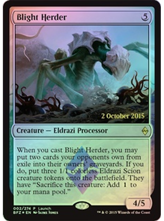 Blight Herder (Battle for Zendikar Launch)