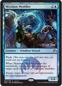 Mizzium Meddler (Magic Origins Launch)