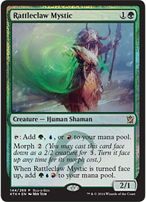 Rattleclaw Mystic (Khans of Tarkir Buy-a-Box)