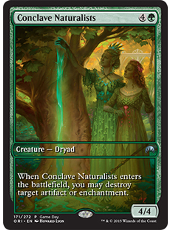 Conclave Naturalists (Magic Origins Game Day) (Full-Art)