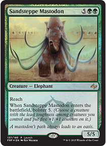Sandsteppe Mastodon (Fate Reforged Launch)