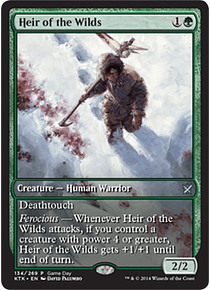 Heir of the Wilds (Khans of Tarkir Game Day) (Full-Art)