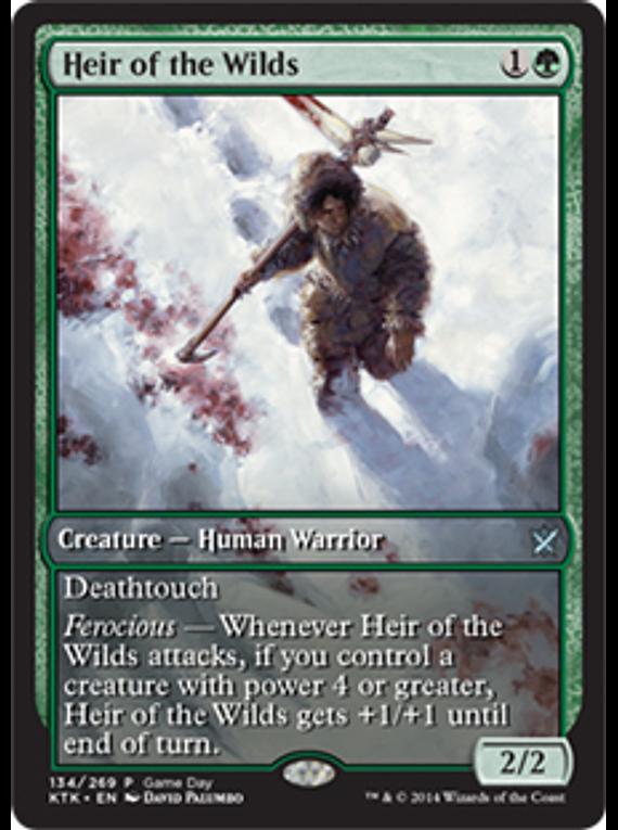 Heir of the Wilds (Khans of Tarkir Game Day) (Full-Art)