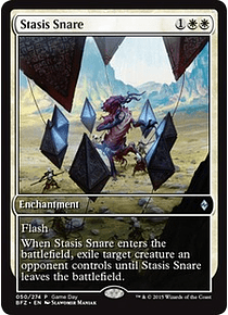 Stasis Snare (Battle for Zendikar Game Day) (Full-Art)