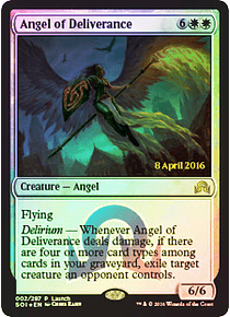 Angel of Deliverance (Shadows over Innistrad Launch)