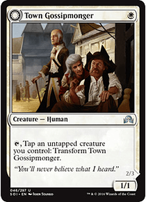 Town Gossipmonger - Incited Rabble - SOI