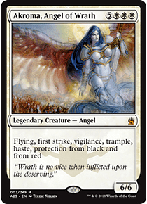 Akroma, Angel of Wrath - A25
