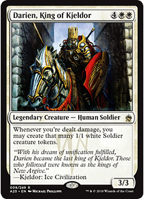 Darien, King of Kjeldor - A25