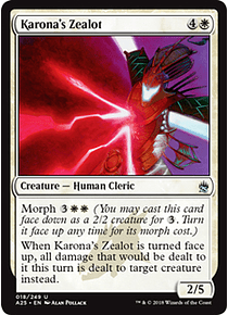 Karona's Zealot - A25
