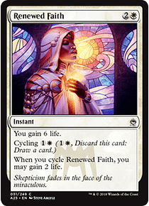 Renewed Faith - A25