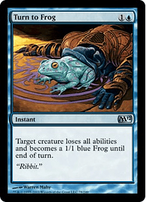 Turn to Frog - M12