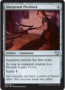 Sharpened Pitchfork - DDQ