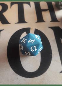 Dado Contador de vida - Azul - Fate Reforged