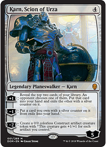 Karn, Scion of Urza - DOM