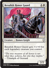 Benalish Honor Guard - DOM